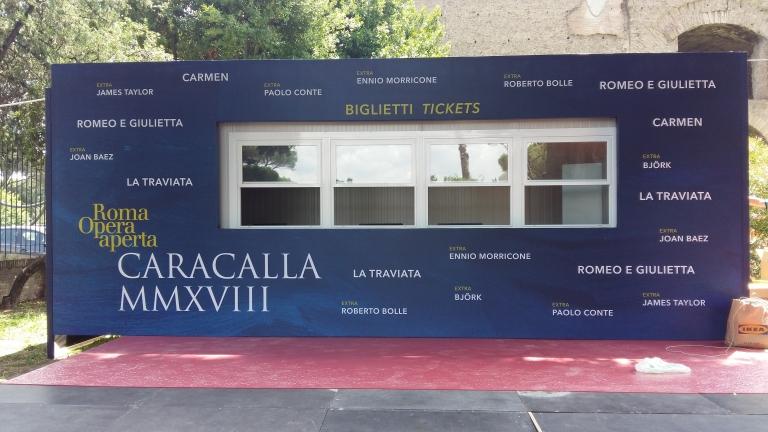 Inaugurazione della mostra di Mauro Staccioli - Terme di Caracalla