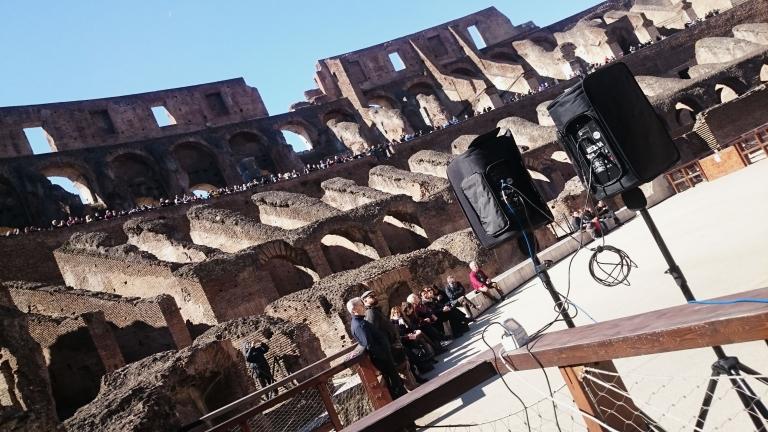 Coro di Cambrige al Colosseo