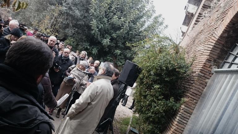 Inaugurazione Casa di Augusto sul Palatino 20/04/2018 -  Mondadori Electa