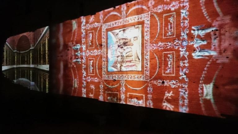 Inaugurazione realtà virtuale nella Domus Aurea